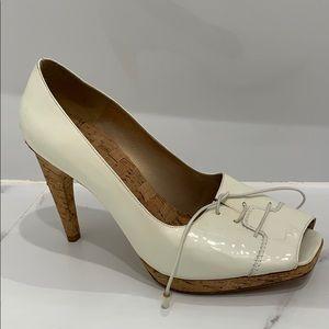Stuart Weitzman white Heel